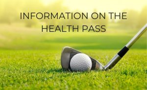 Information on the health pass in our golf clubs - Open Golf Club