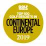 Top 100 Golf Resorts in Continental Europe