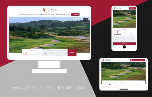 Le site Le Touquet Golf Resort fait peau neuve !