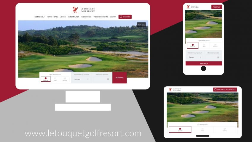 The Website of Le Touquet Golf Resort has a new look! - Open Golf Club