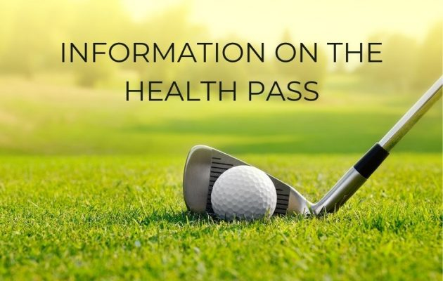 Implementation of the health pass in Touquet Golf Resort